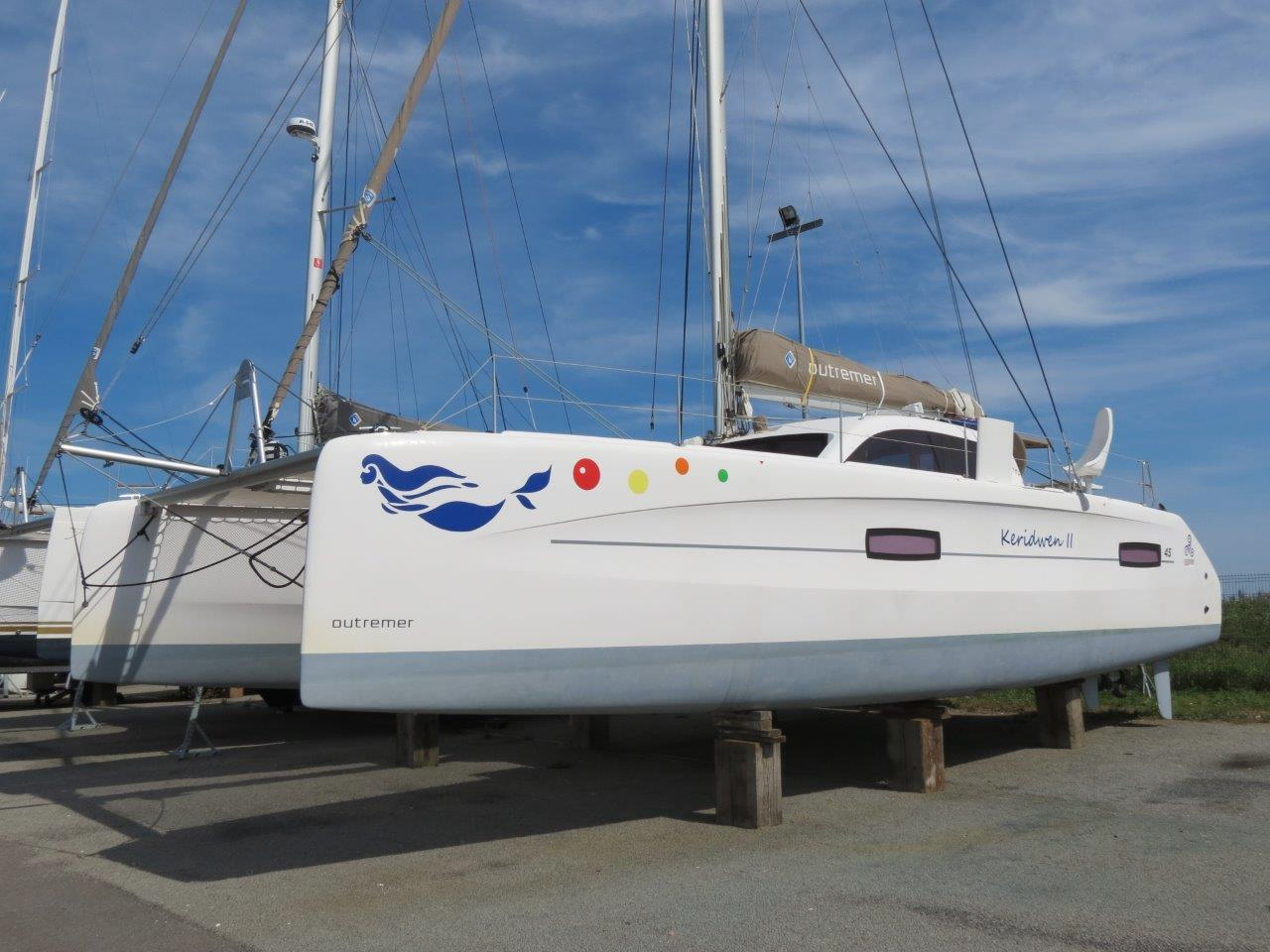 Les Catamarans du Port à Sec